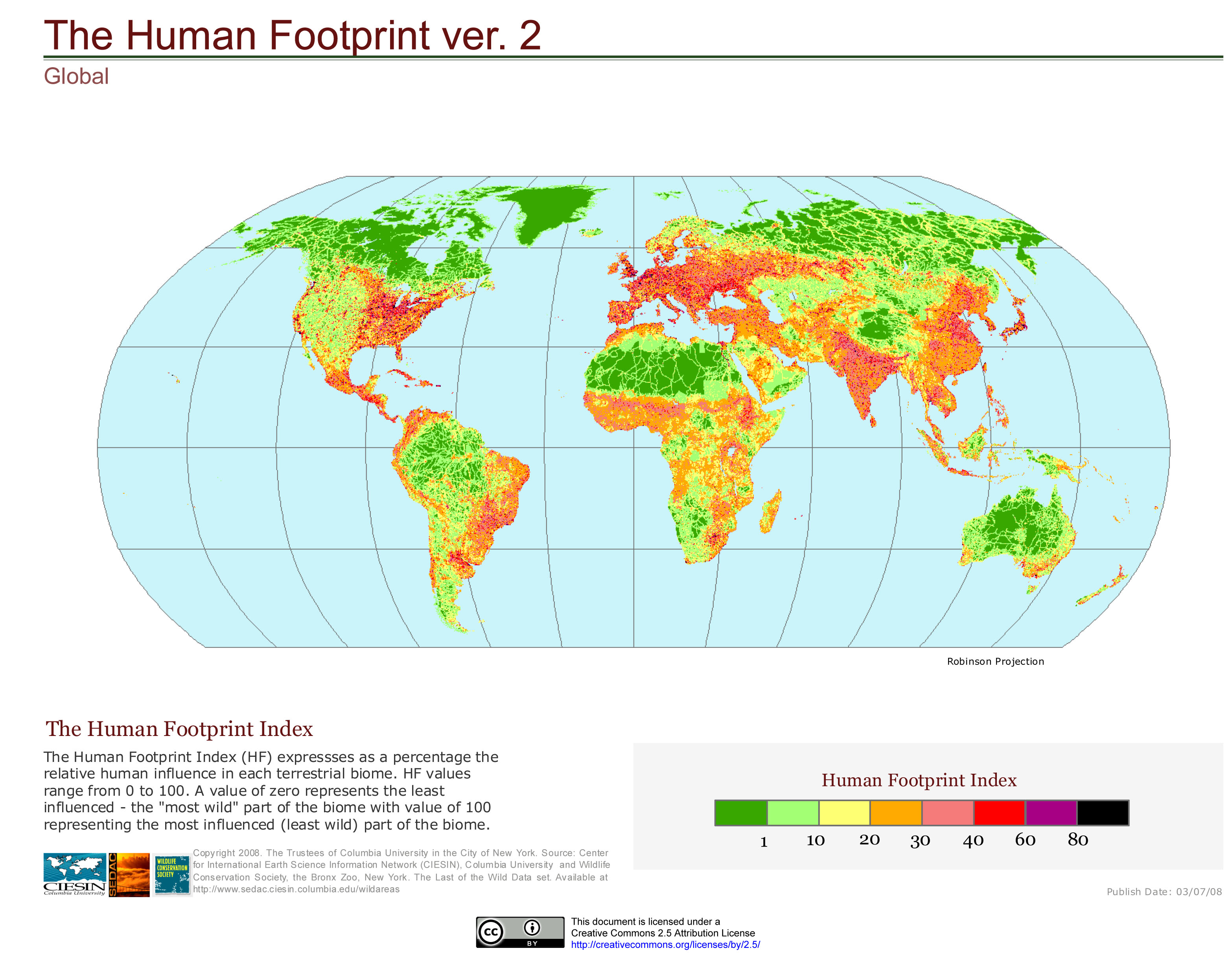 Worksheets Ecological Footprint Worksheet ecological footprints science for understanding the peoples human footprint nasa 4